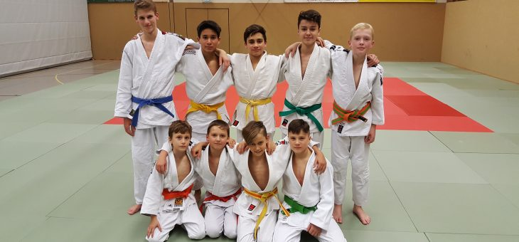 Horner Judo Jugend in Trainingslager