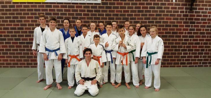 Dan-Träger aus Italien zu Gast bei Horner Judoka