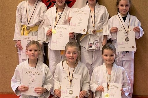 Judo Mädchen begeistern beim Princess Cup
